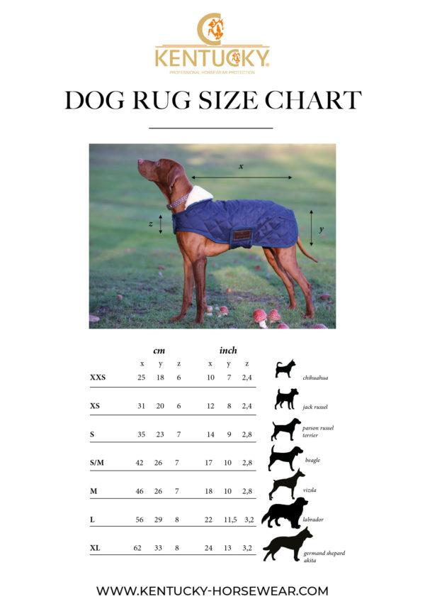 kentucky-dog-coat-size-chart