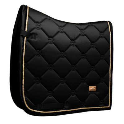 es-dressage-saddle-pad-black-gold