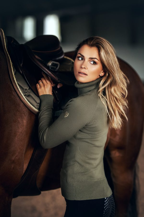 equestrian-stockholm-knitted-polo-top-golden-olive