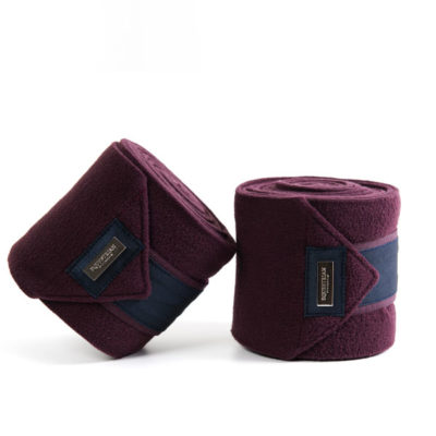 equestrian-stockholm-fleece-bandages-merlot-crystal