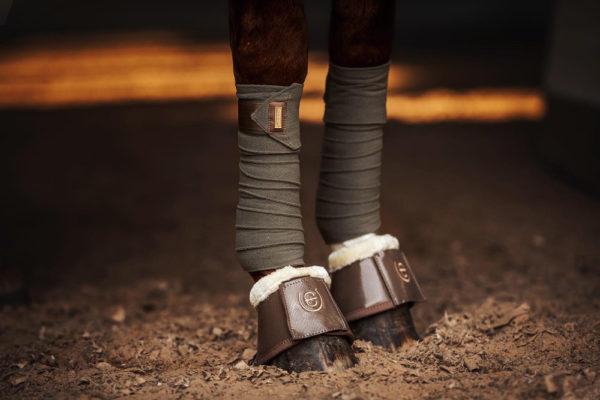 equestrian-stockholm-fleece-bandages-golden-olive
