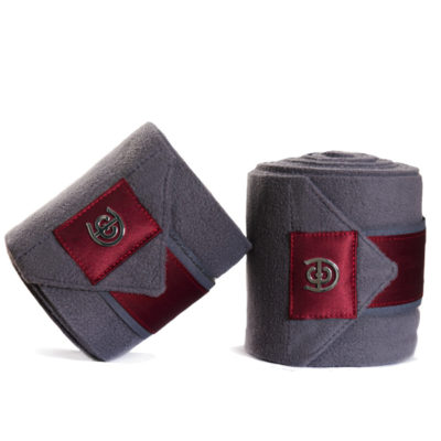 equestrian-stockholm-fleece-bandages-grey-bordeaux