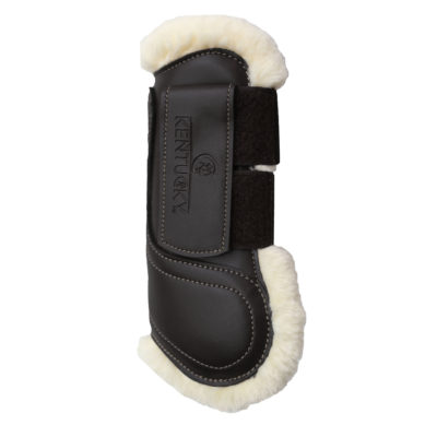 kentucky-leather-sheepskin-tendon-boots-hook-&-loop