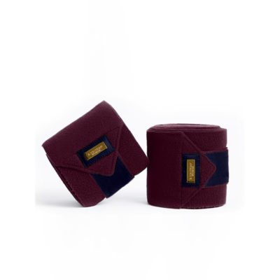 equestrian-stockholm-fleece-bandages-purple-gold