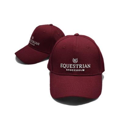 equestrian-stockholm-bordovo-strieborna-baseballova-ciapka