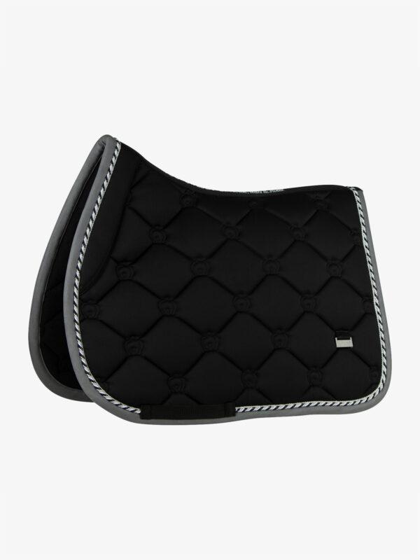 ps-of-sweden-monogram-jump-saddle-pad-black