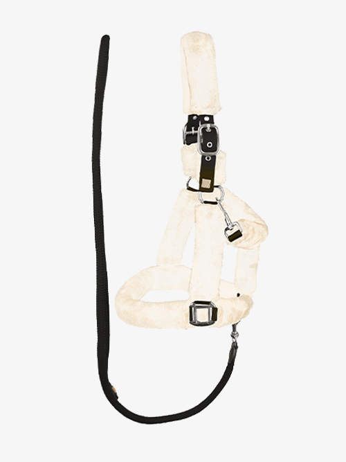 ps-of-sweden-fluffy-halter-lead-rope-cream