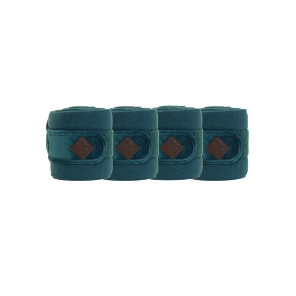 kentucky-polar-fleece-bandages-velvet-emerald