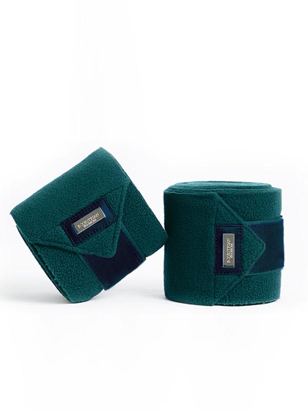 equestrian-stockholm-fleece-bandages-emerald