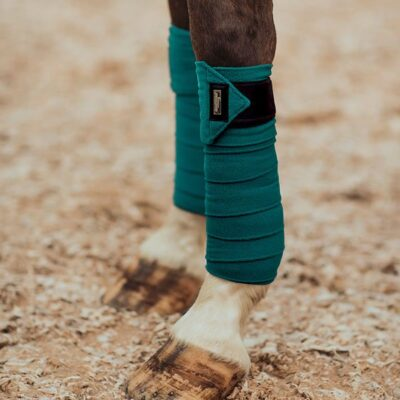 equestrian-stockholm-fleece-bandages-emerald
