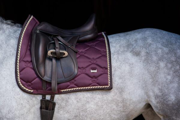 ps-of-sweden-monogram-dressage-saddle-pad-wine