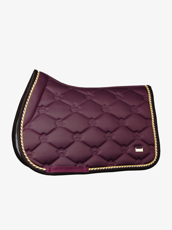 ps-of-sweden-monogram-jump-saddle-pad-Wine
