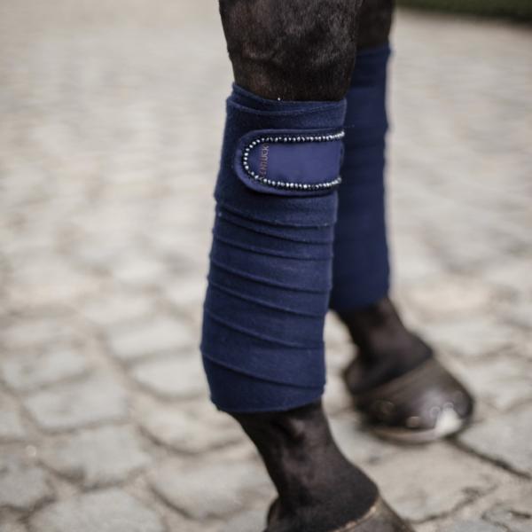 kentucky-polar-fleece-bandages-pearls