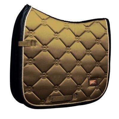 equestrian-stockholm-dressage-saddle-pad-golden-brass-cob