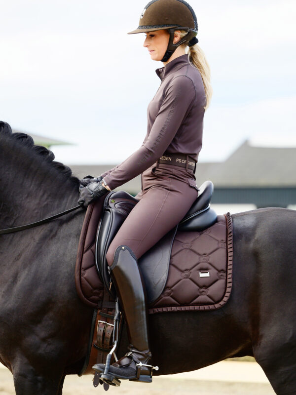 ps-of-sweden-ruffle-dressage-saddle-pad-coffee