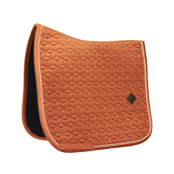 kentucky-saddle-pad-velvet-dressage-orange