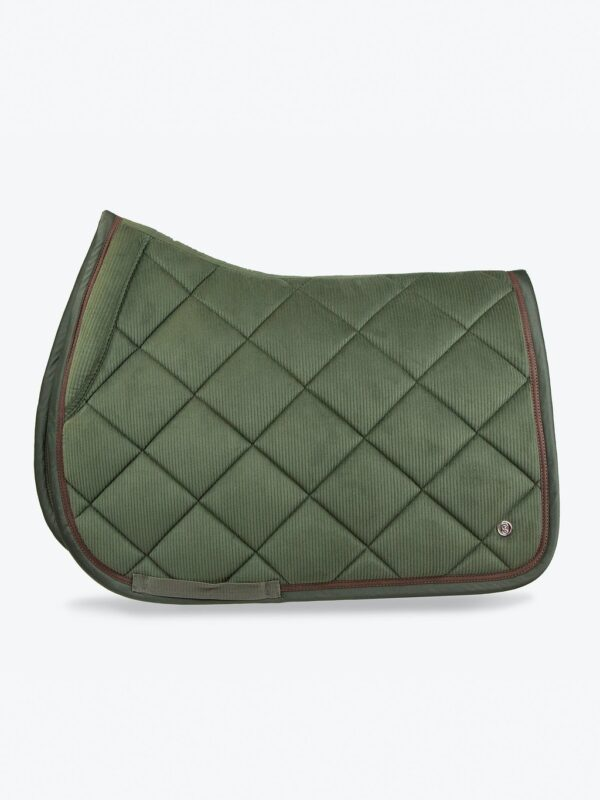 ps-of-sweden-jump-saddle-pad-corduroy-hunter-green