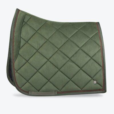 ps-of-sweden-dressage-saddle-pad-corduroy-hunter-green